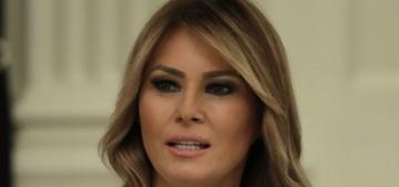 Melania Trump announced plans to redesign the White House Rose Garden