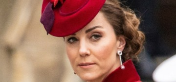 DM: Sources insist Duchess Kate 'was crying after a dress fitting with Charlotte'