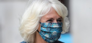 Duchess Camilla finally wore a mask for an event for the very first time