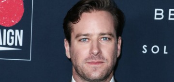 Armie Hammer: Trump & Biden are 'essentially two sides of the same coin'