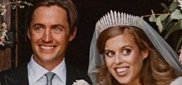 Princess Beatrice & Edoardo 'packed up' a small car & drove to French honeymoon