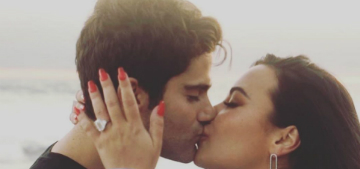Demi Lovato's massive engagement ring is worth $2-$5 million