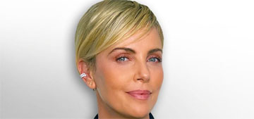 Charlize Theron posts throwback video shaving her head: do you want to try it?