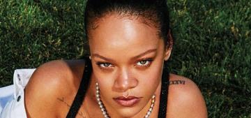 Rihanna covers Harper's Bazaar to promote her Fenty Skin line