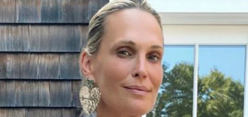 Molly Sims 'got really mom shamed' for not being able to nurse her son