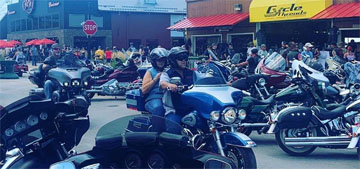 The annual Sturgis motorcycle rally is happening with an estimated 250k attendees