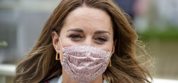 Duchess Kate's Amaia face mask sold out in a day: why did she wait until August?