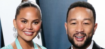 Chrissy Teigen & John Legend announce they're expecting again in his 'Wild' video