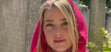 Amber Heard was criticized for what she wore (and didn't wear) to an Istanbul mosque