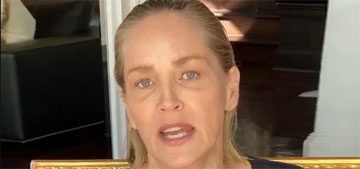 Sharon Stone is losing family to COVID: the middle of the country is at great risk