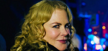 Nicole Kidman looks so great with her natural hair, right?
