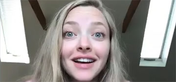 Amanda Seyfried: 'My mom lives with us and is the third parent for us'