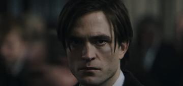 Robert Pattinson sparkles as an eyeliner-wearing Bruce Wayne in 'The Batman'
