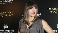 Pregnant Milla Jovovich craving bone marrow
