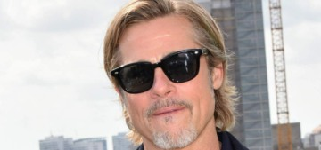 Brad Pitt was probably introduced to Nicole Poturalski by her 68-year-old husband