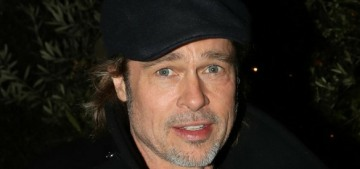 Brad Pitt has some very curious timing on his 'girlfriend rollout' of Nico Mary