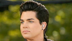 More proof that Adam Lambert is a star: he has his very own cyber-stalker
