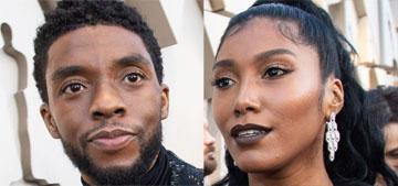 Chadwick Boseman married Taylor Simone Ledward before he passed