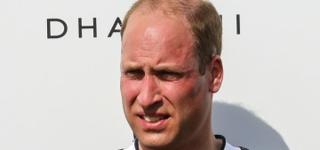 Prince William wants to do his annual charity polo match, without Harry or spectators