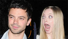 Dominic Cooper is probably cheating on Amanda Seyfried