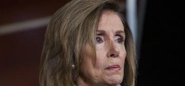 Nancy Pelosi got a wash & blowout indoors at a San Francisco hair salon, oh noes