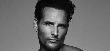 Peter Facinelli shows his 30 pound weight loss in his underwear for a good cause