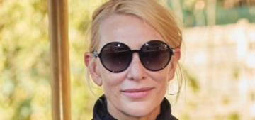 Cate Blanchett carried a gorgeous Valentino tote at the Venice Film Festival