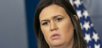 Sarah Sanders: Kim Jong Un winked at me & Trump tried to send me to North Korea
