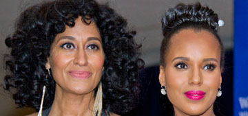Tracee Ellis Ross and Kerry Washington talk natural hair: There's been a real shift