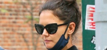 Katie Holmes was seen out on a wine-drinking date with chef Emilio Vitolo