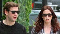 People: Emily Blunt & John Krasinski are engaged