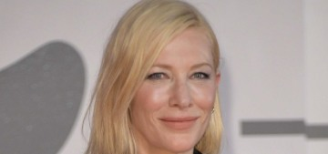 Cate Blanchett in a peplum'd McQueen in Venice: the worst look of the festival?
