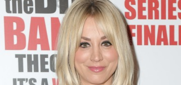Kaley Cuoco wore a mask while jumping rope at the gym & dumb people complained