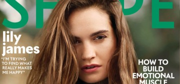 Lily James: 'If I want to order fast food, I let myself eat what I want to eat'