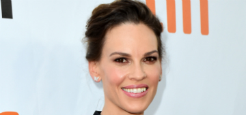 Hilary Swank sues SAG-AFTRA health plan for not covering ovarian cysts