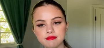 Selena Gomez: Makeup isn't a joke it's actually beautiful and wonderful