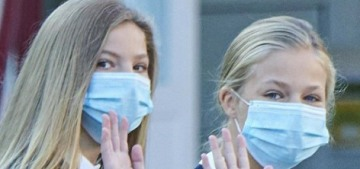 Spain's Princess Leonor & Sofia are in quarantine, days after returning to school