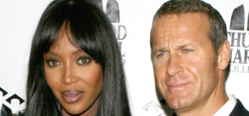 Naomi Campbell actually sued her ex Vlad Doronin before he sued her