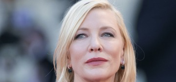 Cate Blanchett wore a show-stopping Armani at the Venice Film Festival's final night