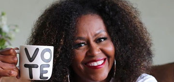Michelle Obama and The Lip Bar encourage voter registration with Bawse Lady color