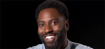 John David Washington on chores he had to do while back at home with dad Denzel