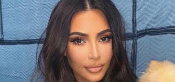 Kim Kardashian criticized for adding maternity shapewear to her SKIMS line