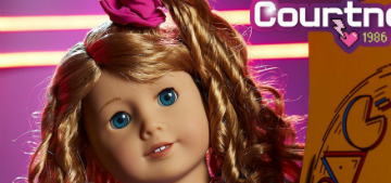 American Girl debuts 80s historical doll with a scrunchie and leggings
