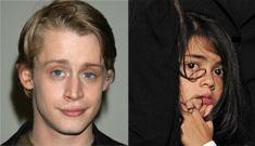 Is Macaulay Culkin Blanket's biological father? (update: denied)