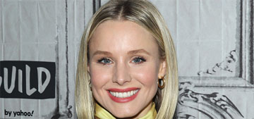 Kristen Bell's daughters drink O'Douls: fine just stop telling your kids' business