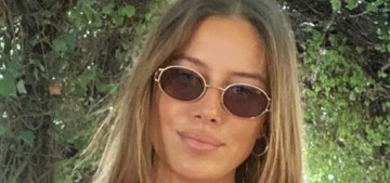 Brad Pitt's girlfriend Nico Mary has a special message: 'Happy people don't hate'