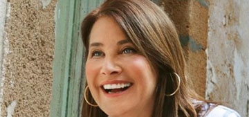 Lorraine Bracco is doing a home reno show for a house she bought in Sicily for a euro