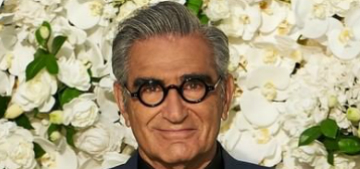 Eugene Levy says the Schitt's Creek party had to downsize due to crowd size limits