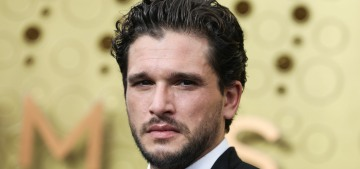 Kit Harington: Emotionally, men have a problem, a 'blockage' from WWII