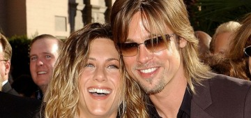 Brad Pitt signed on to that 'Fast Times' script reading after Jennifer Aniston